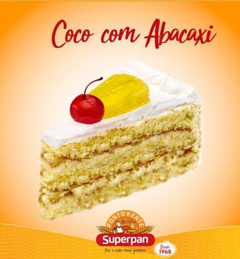 Torta Abacaxi com Coco 1