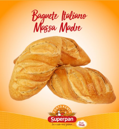 Baguete Italiano Massa Madre 2