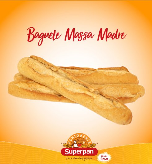 Baguete Massa Madre 1
