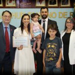 Diretora Financeira da SUPERPAN recebe título de Cidadã Honorária de Rio Pardo.