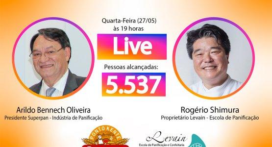 Live Arildo Bennech Oliveira e Rogério Shimura