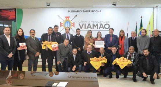 Superpan recebe homenagem da Câmara de vereadores de Viamão. 2