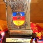 Troféu Brasão de Rio Pardo: colaboradores da Superpan foram agraciados com o reconhecimento.