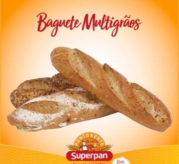 Baguete Multigrãos 3