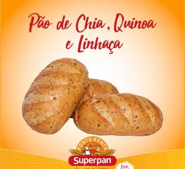 Pão de Chia, Quinoa e Linhaça 2