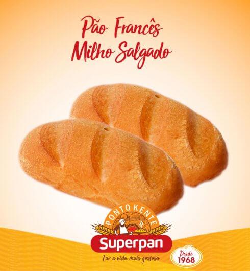 Pão Francês de Milho Salgado 2